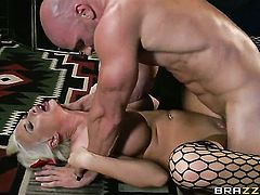 Johnny Sins cant resist naughty Summer Brielles attraction and fucks her mouth like crazy