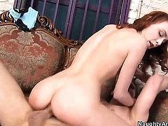 Zoe Voss and hard dicked guy Danny Wylde enjoy sex too much to stop