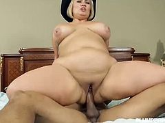 Hot Latina BBW Sinful Celeste is your gorgeous fat babe with lots of hormones urging her to fuck everyday. This time with her fuck buddy as her boyfriend is away and would love to spank that ass while fucking.