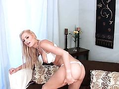 Chloe Conrad with hairless snatch will take your breath away with her sexy body