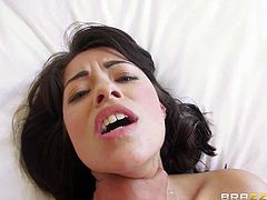 Sexy lipped and truly nicely breasted babe Ava Dalush found herself in sexually skilled Ramons hands full of adult sex toys for her tight hole. He makes this girl heated up and wetter than ever!