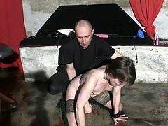 Serf sandy inside pain pleasure session, have spanked then  and receive