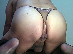 Prostate milking with huge dildo riding Nov-29-2014