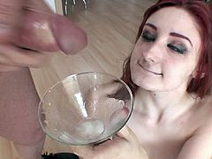 Sweet Cum Swallow Compilation From Cocktail Glasses Only