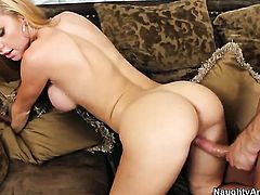 Jessie Rogers with juicy melons needs sex with Bill Bailey really badly