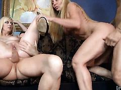 Cherry Torn and her horny bang buddy Otto Bauer are in the mood for oral sex after anal hole fucking
