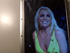Britney Spears Cum Tribute 44