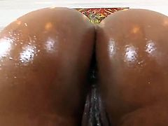 Juicy ebony babes Bethany Benz and Bria Marie make white dude happy