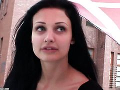 Aletta Ocean with juicy knockers goes solo for cam
