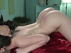 Katie St. Ives fucking with man in black