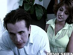 If you thought sexy devilish men did not exist in reality, think again. Lyla's boy comes to her place every night and has wild sex with her. He looks like a hunky movie star and is willing to suck Lyla's pussy any time. He knows, Lyla gets all wild, when his tongue touches her pussy. Watch the two of them have wild and unbelievable sex in the middle of the night.