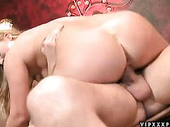 Blonde Aurora Snow knows no limits when it comes to blowing her fuck buddys dick