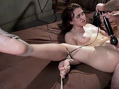 bonded slut is awfully fucked