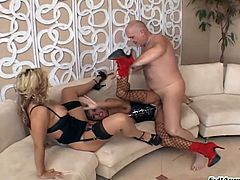 Wild porn sweethearts Francesca and Sara gets fucked in nasty and hot orgasm