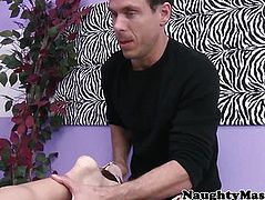 MILF Eva Karera asshole massaged with cock