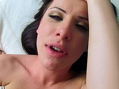 Manuel Ferrara has Katie St Ives pose for him on the balcony before he penetrates her pretty pussy. He slams that nice cunt hole until he cums in her mouth.