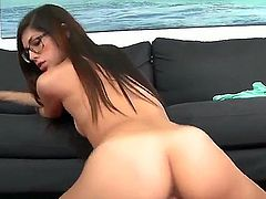 Love 18 year old porn Ava Taylor is a nice barley legal sex hungry girl with thick ass and natural tits. Glassed hottie strokes fat dick and then takes it up her juicy young pussy. She rides dick reverse cowgirl from your POV.