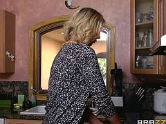 Are you fond of those slutty wives, who would do anything just for fun? The bitch in the video shares with generosity her partner's big cock with another milf. Playful Summer and versed Leigh Darby will delight you with their wonderful big tits and blowjob technique. Click to watch!