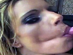 KRISTAL SUMMERS Swallowing Compilation