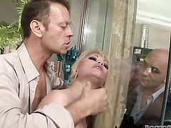 Rocco Siffredi has unthinkable oral sex with Anita Hengher after she gets fucked in her ass