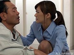 Ichika does not like her job as a nurse a lot. That's why, when she has a few crank heads drop by, who make her life miserable, she needs a good fuck, to make her feel better. But hospital is a great place to fuck. She gets hold of a patient and gives him a blow job. After all, she loves to 'nurse'