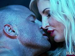 Blonde busty call girl Georgie Lyall gets a naughty lesson in discipline from a sex mad police man. Watch Georgie get her pussy licked and sucked in this devilishly fetish scene