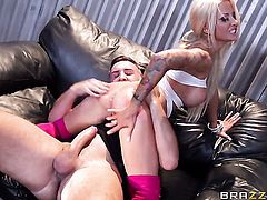 Keiran Lee attacks extremely hot Helly Mae HellfireS vagina with his love torpedo