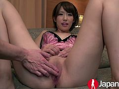 The Sensation Of Making A Girl Cum Is One Of The Best Feeling In Sex. Seira Matsuoka Is A Girl Who Is Open To Spreading Her Legs.
