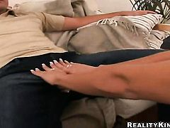 Blonde Cindy Dollar with bubbly ass and smooth cunt getting nude on cam in solo scene