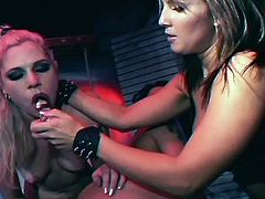 Extreme hardcore sex-two nice lesbians babe toying into ass