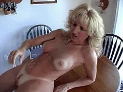Kitchen table fuck
