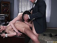 Chase Ryder finds herself getting hammered by Johnny Sins