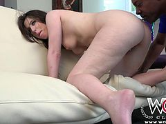 Jvanni is pleased to see that she found a dick big enough to make her scream when she spreads her phat ass cheeks.