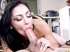 Audrey Bitoni with massive jugs is a fuck addict who loves Tyler Nixons sturdy love wand so much
