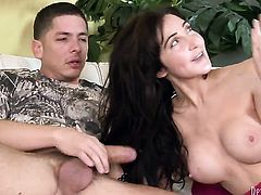 Diana Prince looks for a chance to get orgasm after hard ass way fucking with Alex Gonz