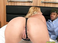 Kid Jamaica is ready to make pretty Milly Amorims every anal fantasy a reality before dick sucking