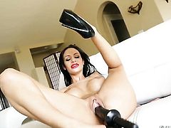 Mistress Angelina Valentine loves masturbating for you to watch and enjoy