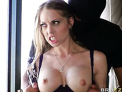 Mick Blue gets his always hard rod eaten by Shawna Lenee with juicy tits