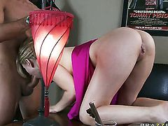 Lexi Belle finds herself getting humped by Keiran Lee