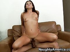Marco Rivera touches the hottest parts of sex crazed CeCe Stones body before he fucks her snatch