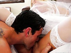 Ryan Driller attacks nasty Tasha ReignS honeypot with his love torpedo
