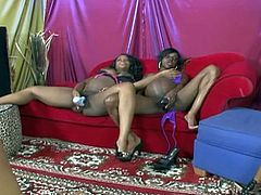 You won't hate them for this as these big boobies pussy loving pregnant lesbian whores get wild and nasty in hot foursome.