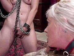 yhivi gets kinky treatment from karlo and holly