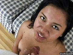 Alluring minx Nakia Ty makes no secret of her love hole and boobs