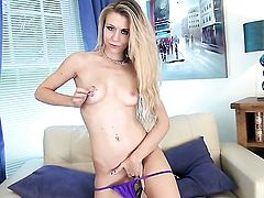 Michelle Moist is in heat in solo scene
