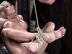 tied & suspended goddess