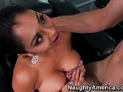 Priya Anjali Rai with big tits has sex experience of her lifetime with hard dicked dude Jordan Ash