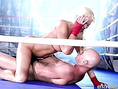 Johnny Sins plays hide the salamy with Summer Brielle