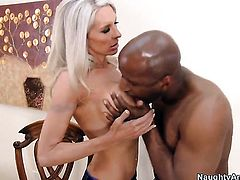 Prince Yahshua plays hide the salamy with Emma Starr with gigantic jugs and bald pussy