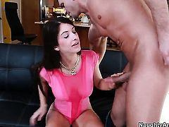 Bill Bailey loves good looking Karina WhiteS dripping wet muff and bangs her as hard as possible